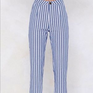 Nasty Gal Striped Pants